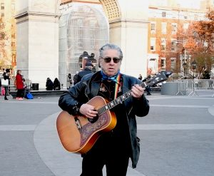 Alan Freedman, Washington Square Park, NYC