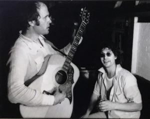 Tim Hardin and Alan, Bitter End, 1976
