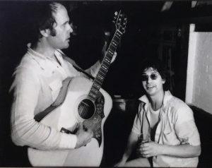 Tim Hardin and Alan, Bitter End, 1976