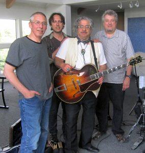 Big Twig Studios, NY, 2014 Mike, Jeremy, Alan, Ed