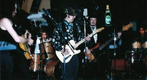The Troubleshooters, McGoverns, NYC, 1990 Maarten, Mike, Alan, Rod, Eddie