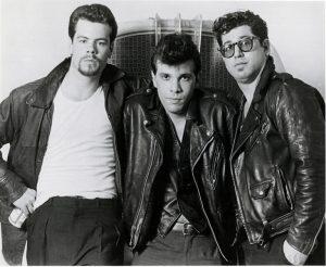 The Thangs, NYC, 1983 Doug, Joey, Alan