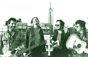 The Troubleshooters, NYC, 1989 John, Mike, Lorin, Alan