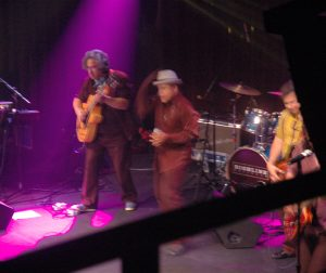 Highline Ballroom, NYC, 2010 with Alan, GJ, Brian Stanley
