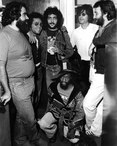 Ghost Writer session, A&M, 1977 Don Grolneck, GJ, Steve Gadd, Leon Pendarvis, Alan, Hugh McCracken