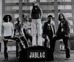 JABLAC NYC, 1970 Chip White, Les Lumley, Bill Chelf, Jane Blackstone, Calvin Hill, Alan