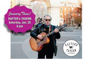 Alan Freedman at Rafter's Tavern January 25, 2020